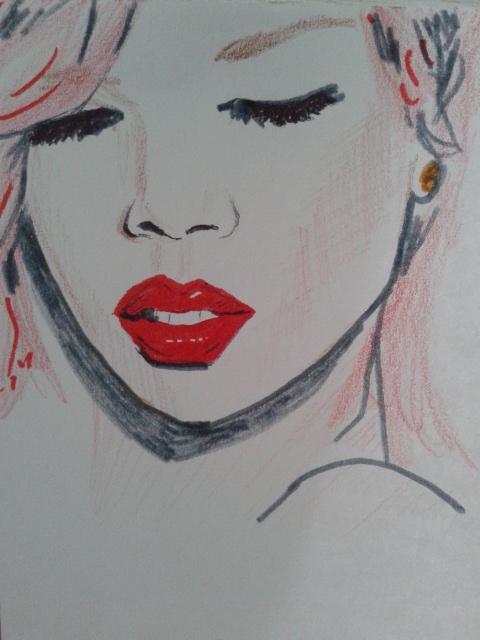 Rihanna par perlefr